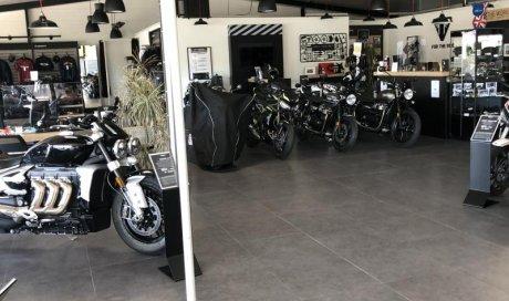 Remise en état annuel de Triumph moto plus
